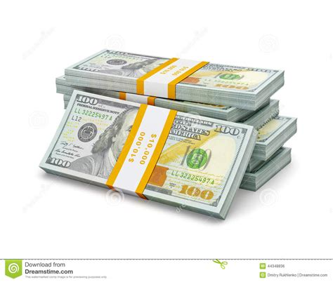 100 Dollar Mba Books by Stack Of New 100 Us Dollars 2013 Edition Banknotes Bills