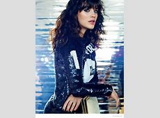 """""""Downtown Abbey"""" Star Jessica Brown Findlay Poses for Marc ... Giles"""