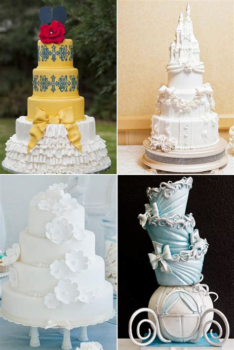 Hochzeitstorte Prinzessin by Disney Princess Wedding Cakes Popsugar Food