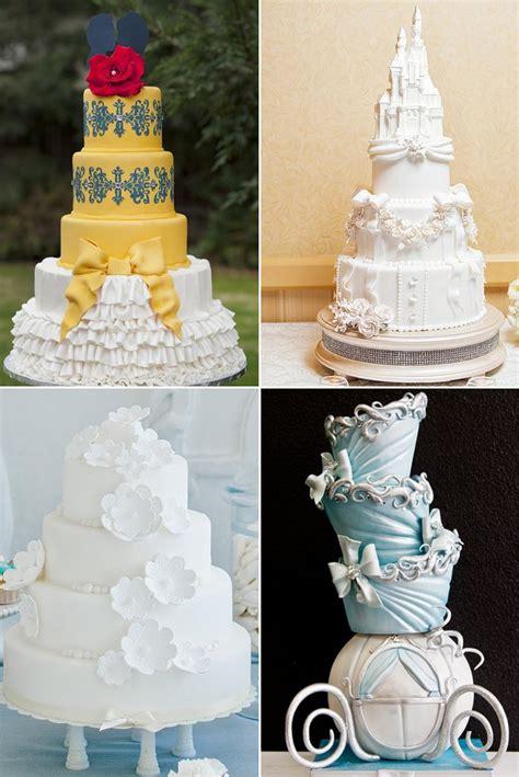 Disney Princess Wedding Cakes   POPSUGAR Food