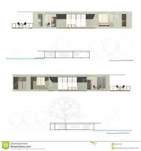 Floor Plan App Free architecture elevation and section royalty free stock