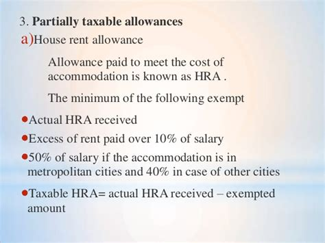 hra exemption section 80 hra exemption section 10 hra exemption calculation tax