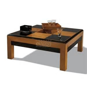 table de salon carr 233 e ou rectangulaire damier merisier