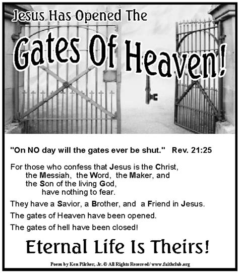 the gates of hell confessing in a hostile world books the gates of heaven are open for all who are willing to
