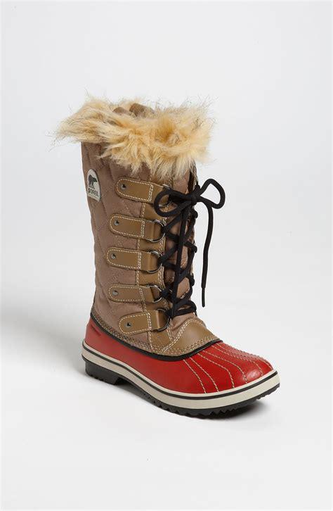 sorel boots sorel tofino boot in beige lyst