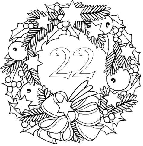 Calendrier De L Avent Adulte Homme Coloriage Adulte Calendrier De L 39 Avent 22 D Cembre 26