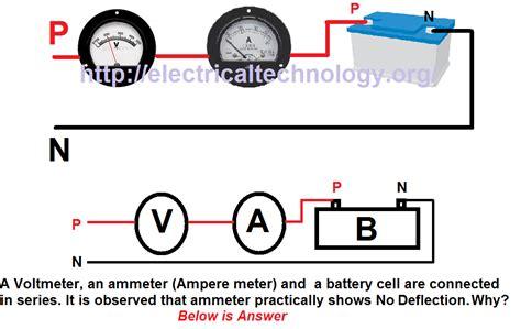 dc volt wiring diagram volt meter electronic