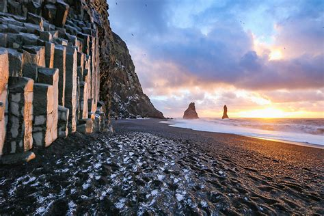 black sand 3 5 reynisfjara black sand beach is a must see in iceland