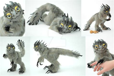posable doll ooak poseable doll griffin by fellkunst on