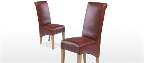 cube dining set with leather chairs cube oak bonded leather dining chairs pair quercus