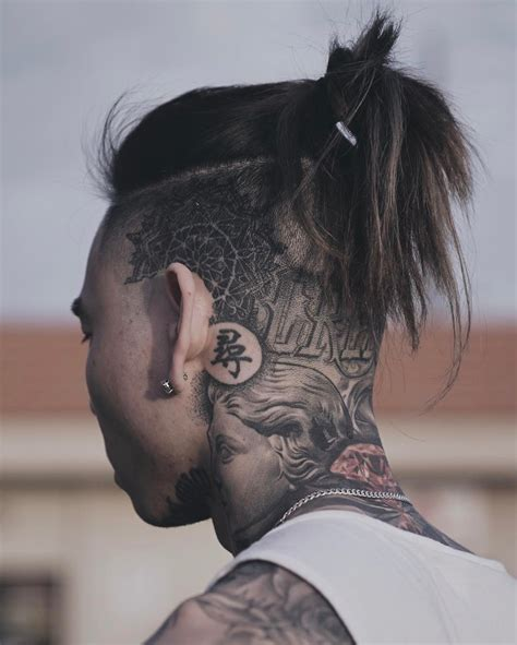 hair tattoos for men hair ideas for