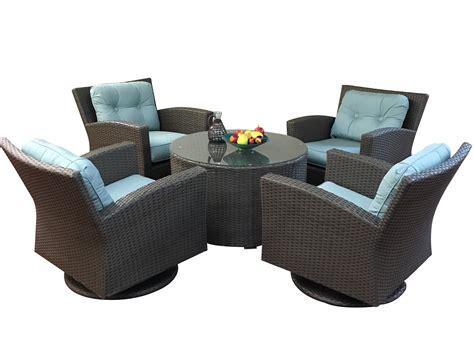 outdoor wicker swivel chairs outdoor wicker furniture swivel conversation