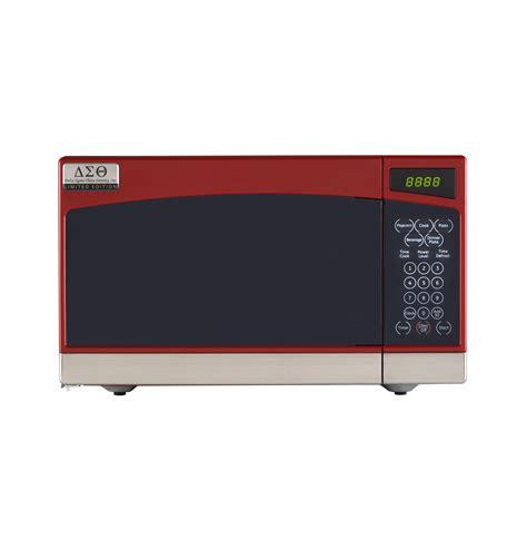 Microwave Zigma Delta Sigma Theta 7 Cu Ft Capacity Countertop Microwave Oven Jes0734pmrr Ge Appliances