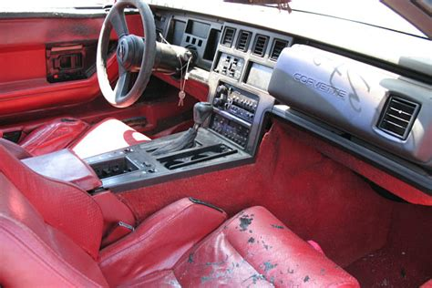 1986 Corvette Interior Parts by 1986 Corvette Parts Car 124732 20th Auto Parts 1