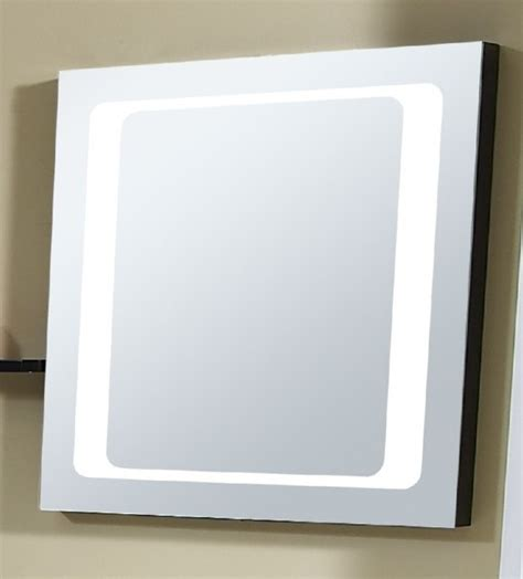 houzz bathroom mirror mirror with integrated lighting zen modern bathroom
