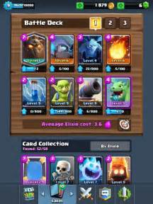 Clash royale lava hound deck arena 5 to 9