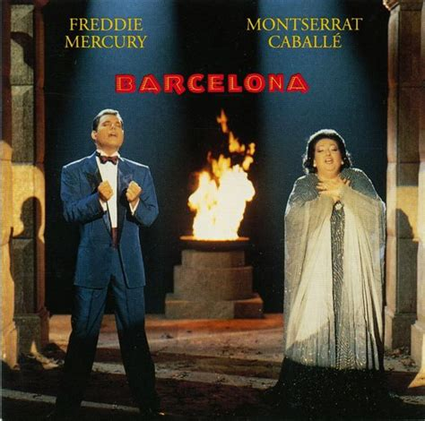 freddie mercury barcelona album  song lyrics