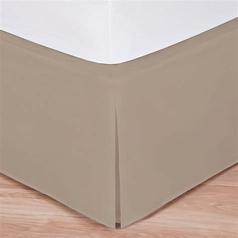 taupe bed skirt buy wrap around wonderskirt twin bed skirt in taupe from