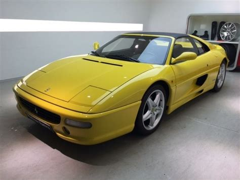 1995 f355 for sale f355 355 3 5 gts bv6 1995 convertible sold
