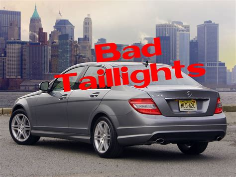 Mercedes A Class Usa by Mercedes Usa Recalls C Class W204 For Taillights
