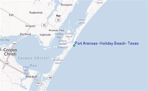 map of port aransas texas port aransas texas tide station location guide