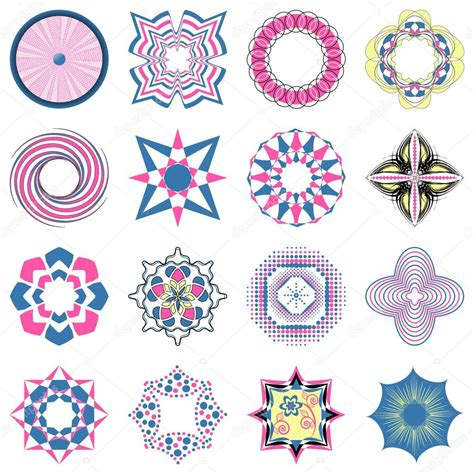 figuras geometricas vector vector conjunto de figuras abstractas para la decoraci 243 n