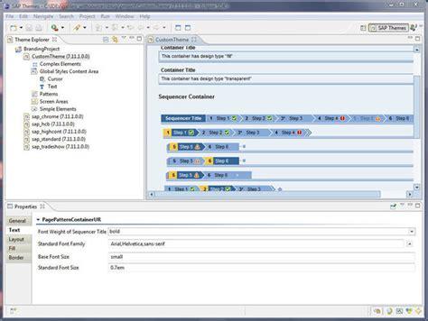 theme editor in sap portal brand your sap application using theme editor sap blogs
