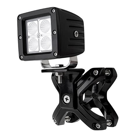 roll bar mount led light universal x cl led light mounts for 2 1 4 quot to 3 quot roll
