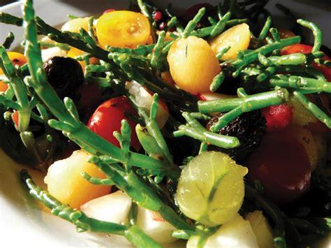 salicorne des marais charentais en sucr 233 sal 233 recette de