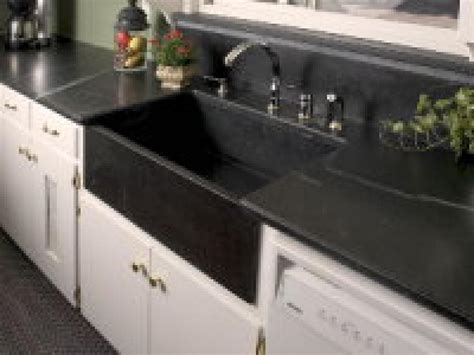 chic stainless steel faucet ba and grey granite bathroom vanity s ideas wooden vinyl laminated is a stone sink right for your kitchen hgtv