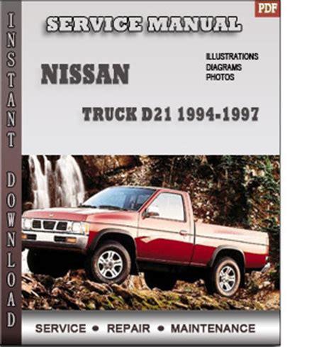 1994 1997 Nissan Truck D21 Service Repair Manual