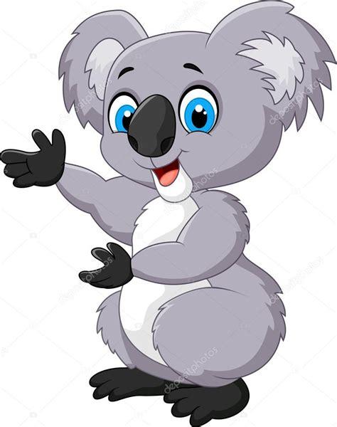 imagenes kawaii de koalas koala de feliz de dibujos animados vector de stock