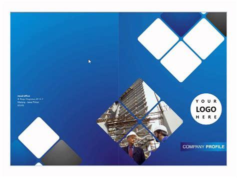 contoh desain company profile perusahaan contoh cd template booklet company profile oleh tata warna