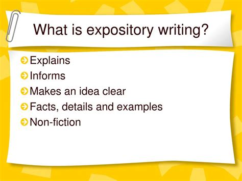 What Is Expository Essay by Ppt Expository Writing Powerpoint Presentation Id 299048