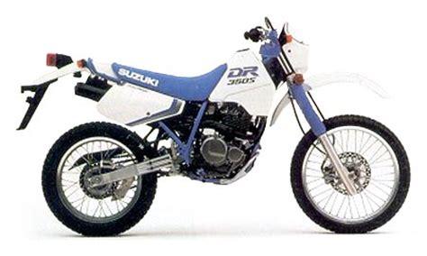 1990 Suzuki Dr350 Suzuki Dr350 Model History