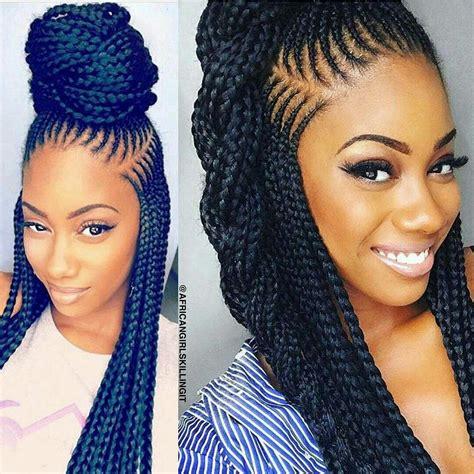 nigeria tresse style 201 pingl 233 par sheila boone sur black hair nails etc