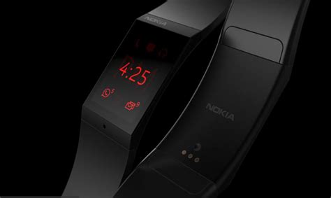 Cool looking Nokia smartwatch concept is based on leaked prototype pictures