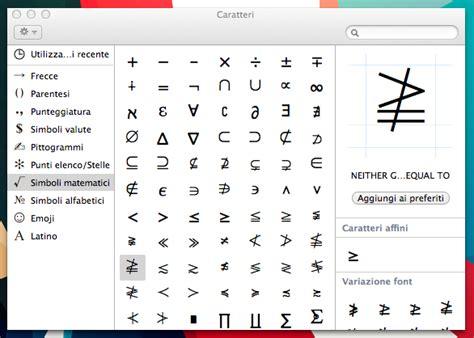 lettere speciali tastiera come inserire i caratteri speciali su mac