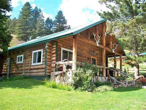 Gardiner Montana Cabin Rentals by Unique Rustic Log House In Jardine Montana Vrbo