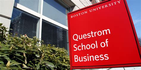 Bu Mba Admissions Deadline by Boston S Questrom School Of Business