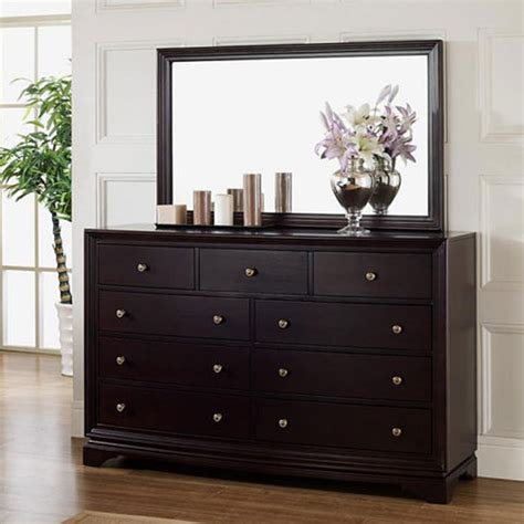 Dresser Mirror by Cheap Black Dresser With Mirror Home Furniture Design