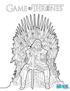 thrones coloring book ebay ary stark coloriage of thrones