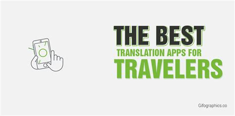 best translate the best translation apps for travelers gifographic