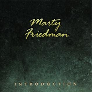 Cd Marty Friedman Exhibit A Live In Europe introduction marty friedman album