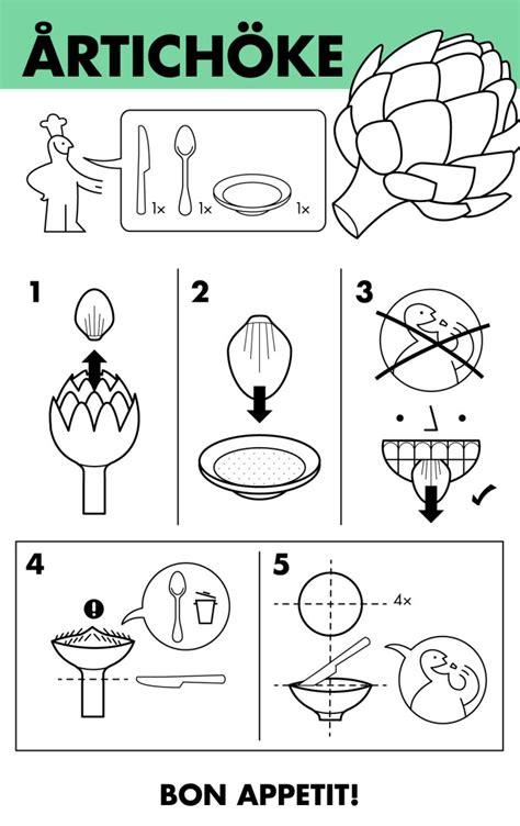 come si cucina il carciofo cibi impossibili da mangiare l infografica spiega in