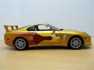 Toyota Supra From Fast And Furious Toyota Supra Fast And Furious 2 Ertl Diecast Model Car 1