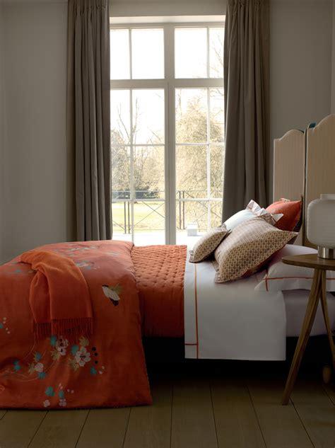 parure de lit yves delorme linge de lit printemps 2014 les tendances visitedeco