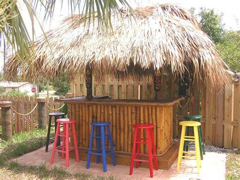 Tiki Bar Hut Tiki Huts Chickee Huts Thatched Roofs Tiki Bars