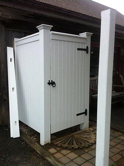 future outdoor shower enclosure the barnstable cape