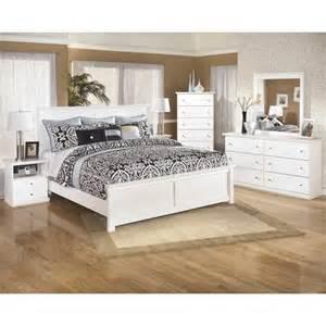 ashley bostwick shoals 6 piece wood king panel bedroom set